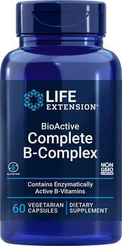 商品Life Extension BioActive Complete B-Complex (60 Vegetarian Capsules)图片