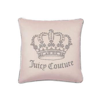 商品天鹅绒哥特式王冠枕头 抱枕 20 x 20英寸图片