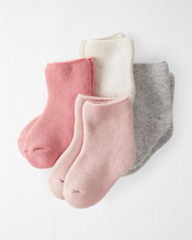 商品4-Pack Organic Cotton Terry Socks图片