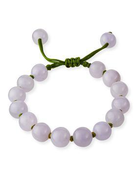 商品Beaded Lavender Jade Bracelet图片