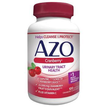商品AZO 加强型蔓越莓妇科尿路泌尿系统健康胶囊图片