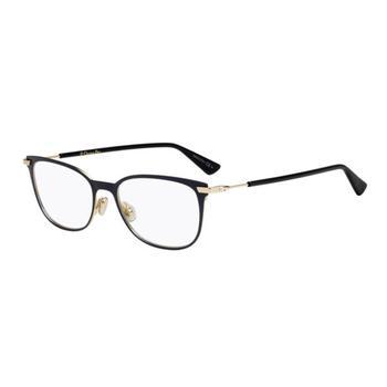 商品Dior Ladies Blue Square Eyeglass Frames ESSENCE13 0PJP 53图片