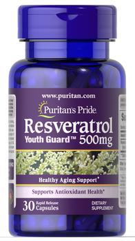 商品Resveratrol 500 mg 30 Capsules图片