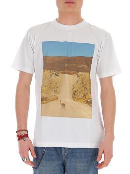 商品Marcelo Burlon County of Milan Printed T-Shirt - M / White图片