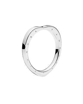 商品Pandora Jewelry Silver Signature Arcs of Love Ring图片