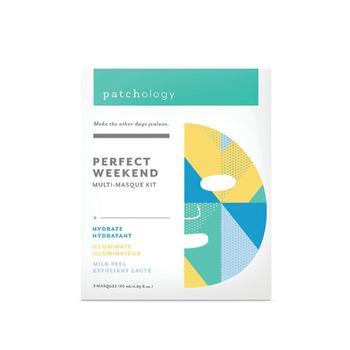 商品Perfect Weekend FlashMasque® Facial Sheets Trio图片