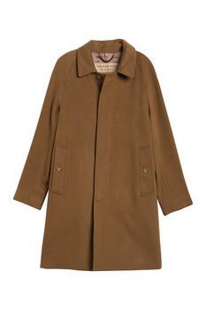 商品Burberry Mens Dark Camel Camden Cashmere Coat, Brand Size 54图片