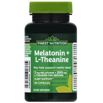 商品Melatonin 3 MG + L Theanine 200 MG图片