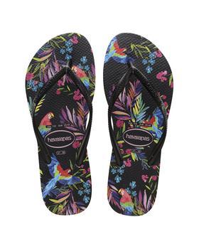 商品Havaianas Slim Tropical Floral Sandal图片
