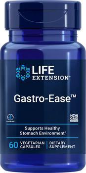 商品Life Extension Gastro-Ease™ (60 Vegetarian Capsules)图片
