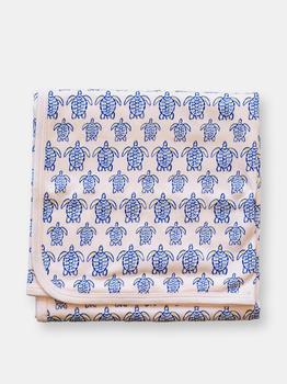 商品Pink Sea Turtle Blanket图片