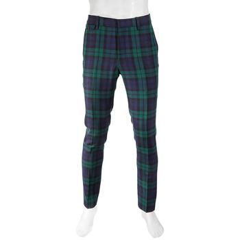 商品巴宝莉 男士蛇纹石格子呢长裤Brand Size 50 (US Size 40) 图片