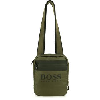商品Logo shoulder bag in green图片