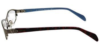 商品Valentino  VL 5591 NJS 51mm Unisex Rectangle Eyeglasses 51mm图片