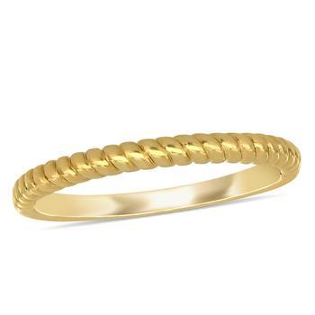 商品Amour 14K Yellow Gold Ring图片