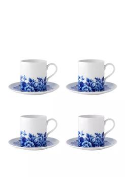 商品Set of 4 Blue Ming - Tea Cup And Saucer图片