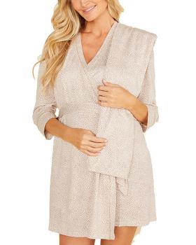 商品Cosabella Amore Robe Blanket PJ Gift Set图片