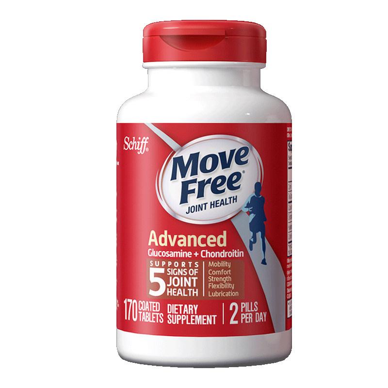 商品MOVEFREE氨糖软骨素红瓶170粒图片