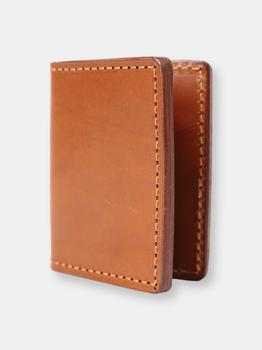 商品THE DUST COMPANY Mod 131 Credit Card Holder in Cuoio Brown图片