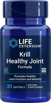商品Life Extension Krill Healthy Joint Formula (30 Softgels)图片