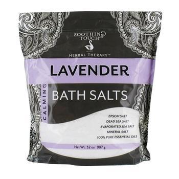 商品Soothing Touch Calming Bath Salts Lavender 32 Oz图片