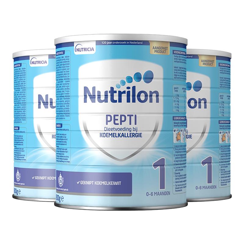 商品荷兰婴幼儿特殊配方深度水解牛奶粉1段 2段 800G/罐 3罐装2022年8月-9月 | Milk  图片