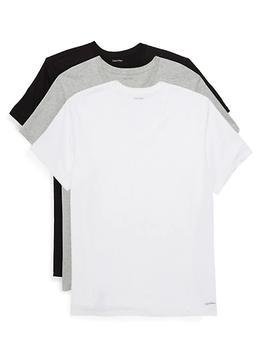 商品3件套 3件装 圆领 纯棉T恤 男款图片