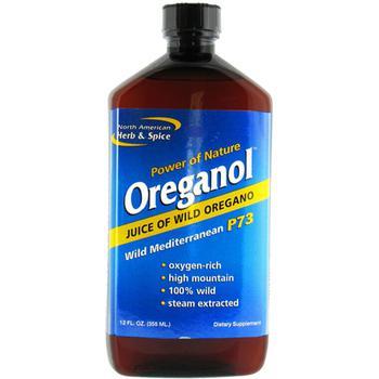 商品North American Herb And Spice Oreganol Juice Of Wild Oregano - 12 Oz图片
