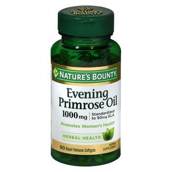 商品Standardized GLA 9% Evening Primrose Oil 1000 mg/90 mg Herbal Supplement Rapid R图片