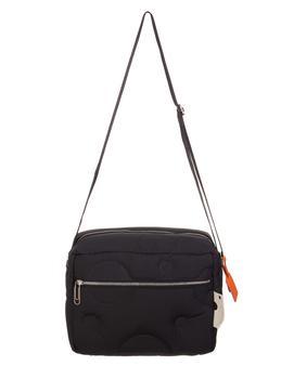 商品Black Meteor Quilted Messenger Bag图片