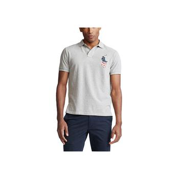 商品Men's Custom Slim Fit Mesh Polo图片