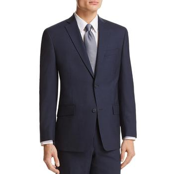 商品MK男式羊毛双扣运动夹克 西装外套-常规版型100%羊毛图片