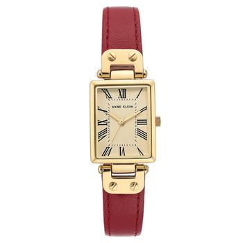 商品安妮克莱恩女士女款女表时尚 配饰 手表 棕色皮带手表图片