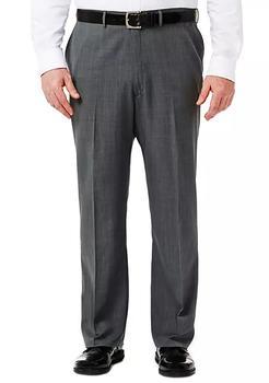 商品Big & Tall Travel Performance Classic Fit Stria Gabardine Suit Pants图片
