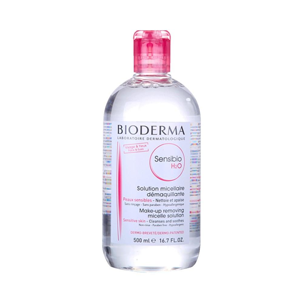 商品贝德玛(Bioderma)深层舒妍卸妆水 舒缓保湿粉水500ml图片