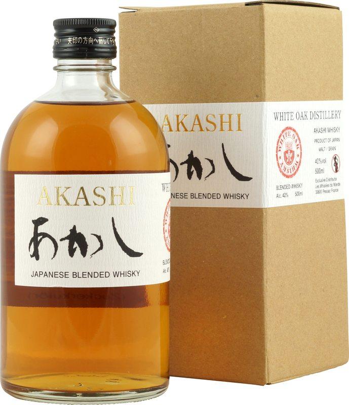 商品Japanese Blended Whisky 50 cl   白橡木明石調和威士忌图片