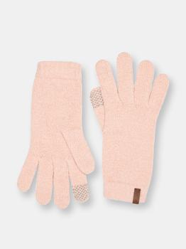 商品Touchscreen Tech Gloves   Faux Cashmere Blush ADULT图片