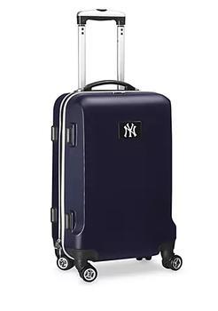 商品New York Yankees 20-in. 8 wheel ABS Plastic Hardsided Carry-on图片