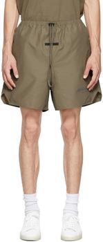 商品Taupe Volley Shorts图片