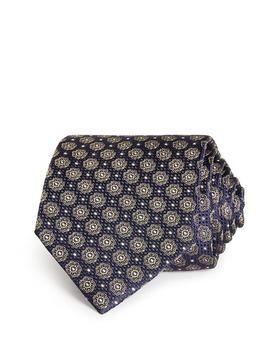 商品Mini Florette Medallion Silk Classic Tie图片