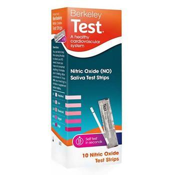 商品Berkeley Test Nitric Oxide Heart Health Saliva Test Strips, 10 Ea图片