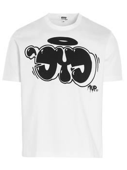 商品Junya Watanabe MAN Eye Print T-Shirt - S / White图片