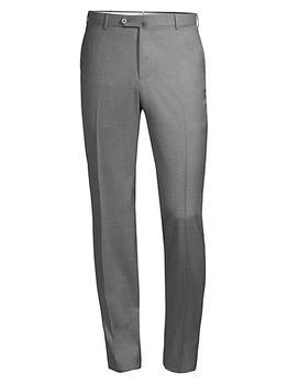 商品Solid Wool Trousers图片