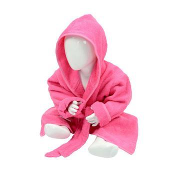 商品A&R Towels Baby/Toddler Babiezz Hooded Bathrobe (Pink) (24/36 Months)图片