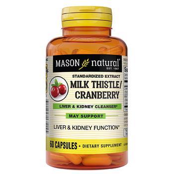 商品Milk Thistle/ Cranberry Liver & Kidney Cleanser Capsules图片