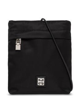 商品Givenchy Black Nylon Crossbody Bag With Logo图片