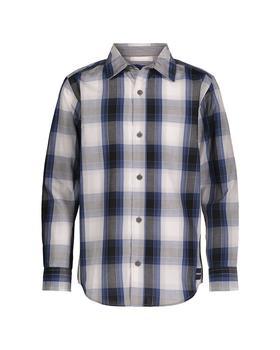 商品Calvin Klein CKJ Gridscape Plaid Shirt图片