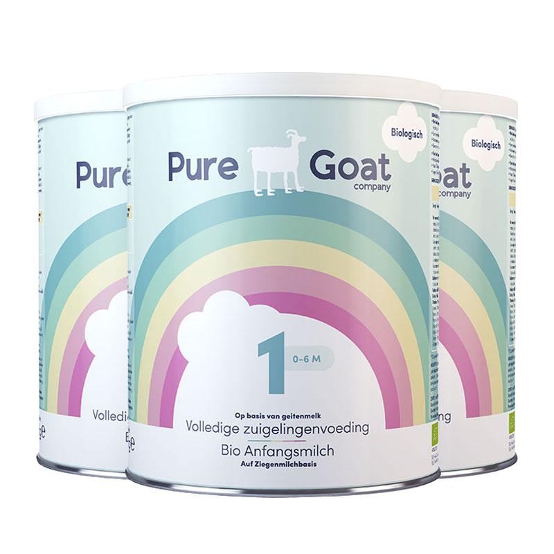 商品荷兰婴幼儿有机羊奶粉1段 2段 3段 800G/罐 3罐装2022年5月到期 | Goat Milk  图片