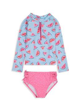 商品Baby Girl's & Little Girl's 2-Piece Watermelon Swim Set图片
