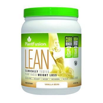 商品PlantFusion Lean Plant Based Weight Loss Vanilla Bean Protein Supplement Powder, 14.8 Oz图片
